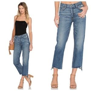 GRLFRND Helena Button Fly High Waist Jean